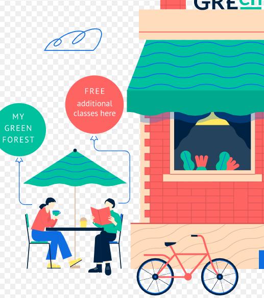 Green Forest Одесса - курси англійської мови